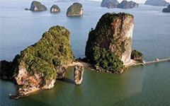 Остров Джеймса Бонда и морские пещеры