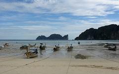 Прогноз высот прилива/отлива в 2013 на Koh Taphao Noi (Пхукет)