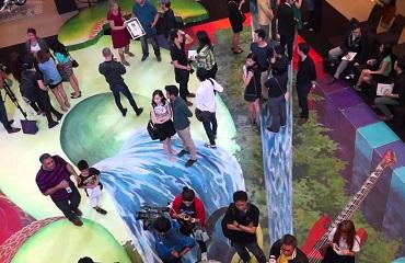 В Бангкоке представлена cамая длинная в мире 3D картина
