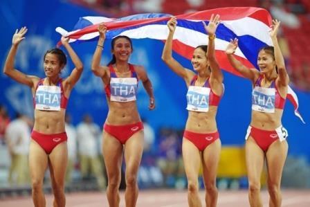 95 золотых медалей привезли домой тайские спортсмены