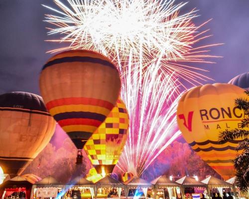 Международный фестиваль Воздушных шаров в Чианг Мае