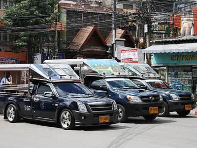 Легендарный паттайский тук-тук поднимает тариф в 2 раза с Нового Года
