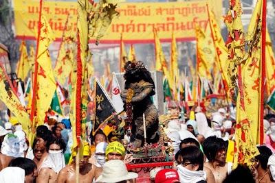 В Таиланде начался ежегодный Вегетарианский фестиваль