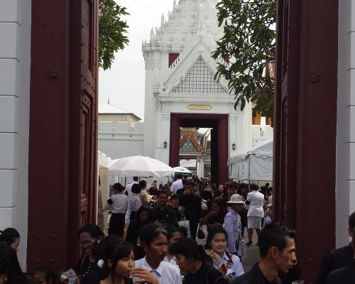 Королевский Дворец в Бангкоке закроют на 4 дня для туристов