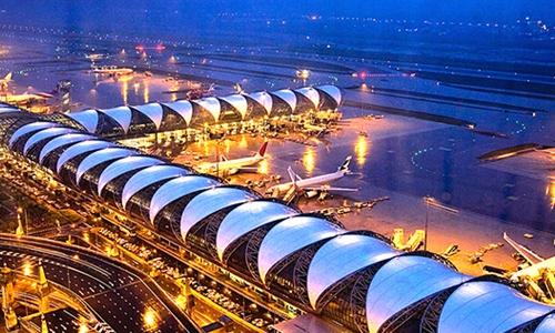 Аэропорт Суварнабхуми вошел в пятерку лучших в мире