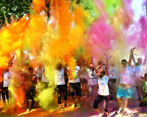 «Разноцветный» забег в Паттайе