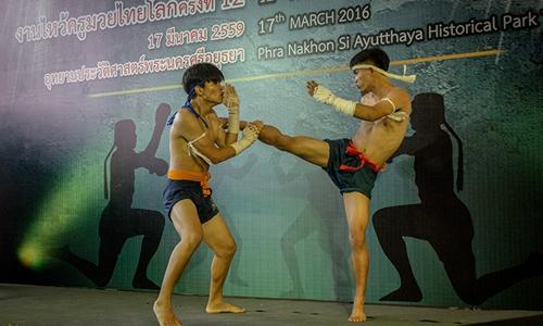 День тайского бокса в Аюттае