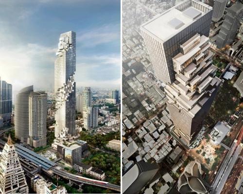 Небоскреб «MahaNakhon» отметит окончание строительства и титул «Самого высокого здания в Таиланде» световым шоу