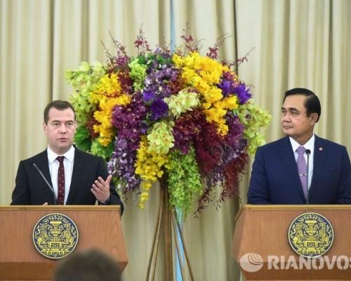 Премьер-министр России в Таиланде