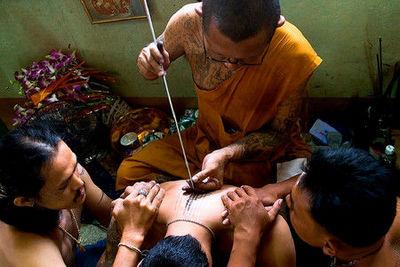 Роспись по телу или тайская магия