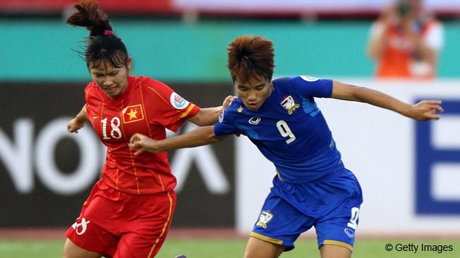 Тайские футболистки обеспечили себе участие в Кубке Мира 2015