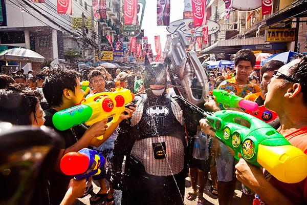 5  простых советов для тех, кто примет участие в праздновании тайского Нового Года - Фестиваля Сонгкран.