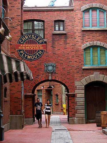 Парк развлечений Universal Studios в Сингапуре