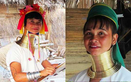 Длинношеее племя Карен