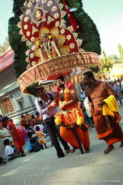 Малайзия. Фестиваль бога войны