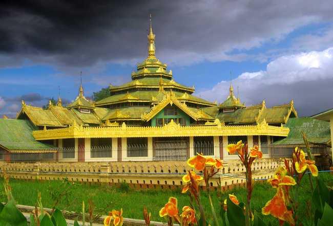 Мьянма. Край золотых пагод