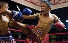 Тайский бокс и такро