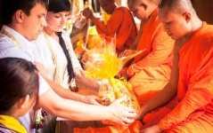 Cвадьба в Буддийском храме Улыбка Будды