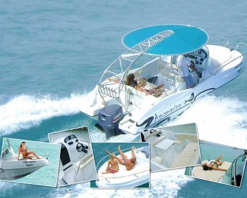 Индивидуальная морская прогулка на скоростном катере «Аквамарин»