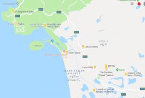 карта Банг Тао